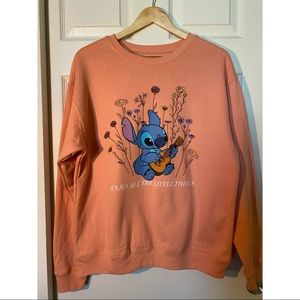 Disney Stitch pullover sweater